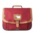 ALISEO TANN'S - Cartable Tann's Classic rouge salsa - 38cm
