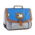 ALISEO TANN'S - Cartable Tann's Iconic gris et bleu - 35cm
