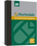 Alison Brayfield - Martindale - The Complete Drug Reference - Coffret en 2 volumes : Volume A, Drug Monographs ; Volume B, Preparations, Manufacturers, Pharmaceutical Terms in Various Languages, General Index, Cyrillic Index.