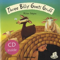 Alison Edgson - Three Billy Goats Gruff. 1 CD audio