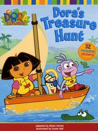 Alison Inches et Susan Hall - Dora's Treasure Hunt.