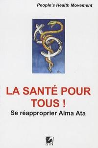Alison Katz - La santé pour tous ! - Se réapproprier Alma Ata.