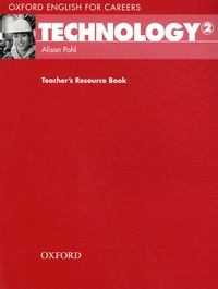 Alison Pohl - Technology 2 - Teacher's Resource Book.