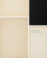 Alison Rossiter - Compendium - 1898-1919.