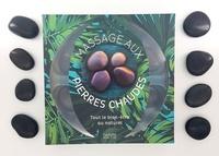 Alison Trulock - Coffret massage aux pierres chaudes - Tout le bien-être au naturel. Contient : 1 livre et 14 pierres volcaniques.