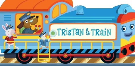 Alistar Illustration - Tristan le train.