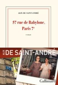 Alix de Saint-André - 57 rue de Babylone, Paris 7ᵉ.