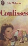 Alix Mahieux - Coulisses.
