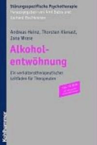 Alkoholabhängigkeit - Ein Leitfaden zur Gruppentherapie.