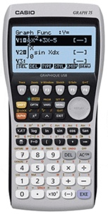 ALKOR - Calculatrice graphique - GRAPH 75