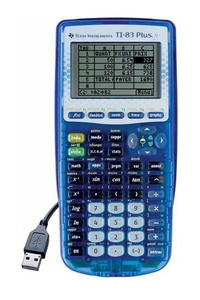 ALKOR - Calculatrice Graphique Texas Instrument TI-83 Plus.fr  remplacée par 23138