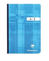 ALKOR - Répertoire broché Metric 11x17 cm 192 pages quadrillées 5x5 - Coloris assortis