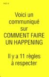 Allan Kaprow - Comment faire un happening.