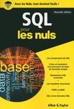 Allen G TAYLOR - SQL poche pour les nuls.
