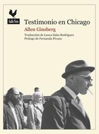 Allen Ginsberg et  Julia Osuna - Testimonio en Chicago - Documento histórico.