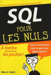 Deedr.fr SQL pour les nuls Image