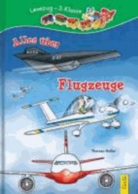 Alles über Flugzeuge - Lesezug 3. Klasse.