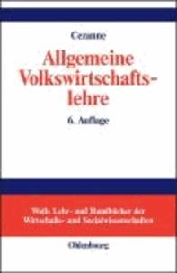 Allgemeine Volkswirtschaftslehre.
