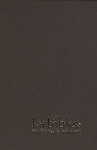 Alliance biblique universelle - La Bible en français courant - Reliure rigide, couverture geltex.