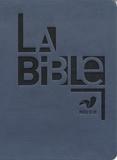 Alliance biblique universelle - La Bible - Ancien Testament intégrant les livres deutérocanoniques et Nouveau Testament, français fondamental, reliure semi-rigide, couverture similicuir bleu.