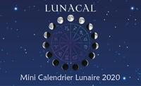 Alliance magique éditions - Lunacal, mini calendrier lunaire.