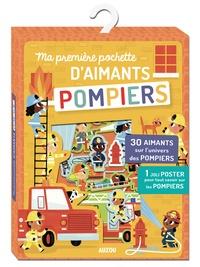 Allison Black - Ma première pochette d'aimants Pompiers - Avec 30 aimants sur l'univers des pompiers et 1 joli poster pour tout savoir sur les pompiers.