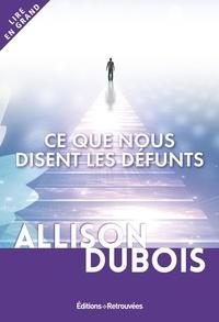 Allison DuBois - Ce que nous disent les défunts.