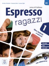 Alma Edizioni - Espresso ragazzi 1, libro + CD audio + DVD.