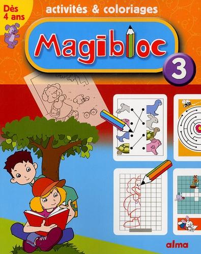 Alma - Magibloc 3 - Activités & coloriages.