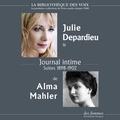 Alma Mahler et Julie Depardieu - Journal intime.