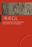 Aloïs Riegl - Grammaire historique des arts plastiques - Volonté artistique et vision du monde.