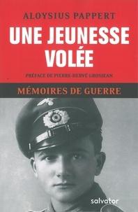 Mémoires de guerre - Tome 1, Une jeunesse volée.pdf