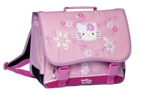 ALPA - Cartable 38 cm Hello Kitty Flowers rose