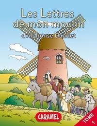 Alphonse Daudet et  Les Lettres de mon moulin - La chèvre de monsieur Seguin - Livre illustré pour enfants.