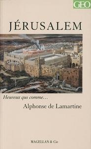 Alphonse de Lamartine - Jérusalem.