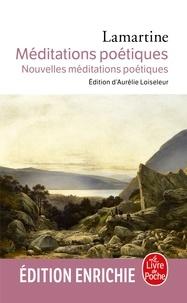 Alphonse De Lamartine - Méditations poétiques nouvelles méditations poétiques.