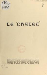 Alphonse Oberlé - Le chalet.