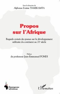 Galabria.be Propos sur l'Afrique - Regards croisés des jeunes sur le développement utilitaire du continent au 21e siècle Image
