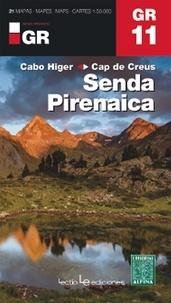 Alpina - GR11, senda pirenaica-Cabo Higer/Cap de Creus - 1/50 000.