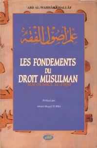 Alqalam livres - Le fondements du droit musulman.