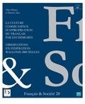 Altay Manço et Patricia Alen - F&S 28 - La culture comme espace d'appropriation du français par les immigrés.