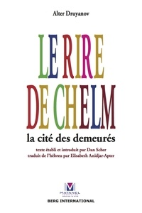 Alter Druyanov - Le rire de Chelm - La cité des demeurés.