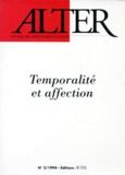 Natalie Depraz - Alter N° 2/1994 : Temporalité et affection.