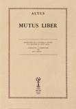 Altus - Mutus Liber.