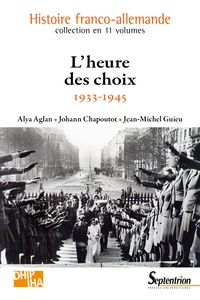 Alya Aglan et Johann Chapoutot - La paix impossible ? - De la crise à la catastrophe.