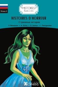 Alyona Chumak et Valeri Brioussov - Histoires d'horreur.