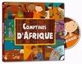 Amadou Sanfo et Sandrine Lhomme - Comptines d'Afrique. 1 CD audio