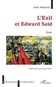 Amal Immouni - L'exil et Edward Said.