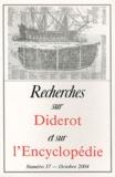 Michel Malherbe - Recherches sur Diderot et sur l'Encyclopédie N° 37, Octobre 2004 : .