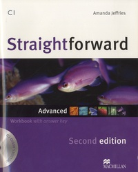 Amanda Jeffries - Straightforward C1 - Advanced Workbook with answer key. 1 CD audio